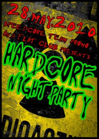 28.05.2010 Hardcore Night Party @ Flat Club, St. Petersburg (RU)
