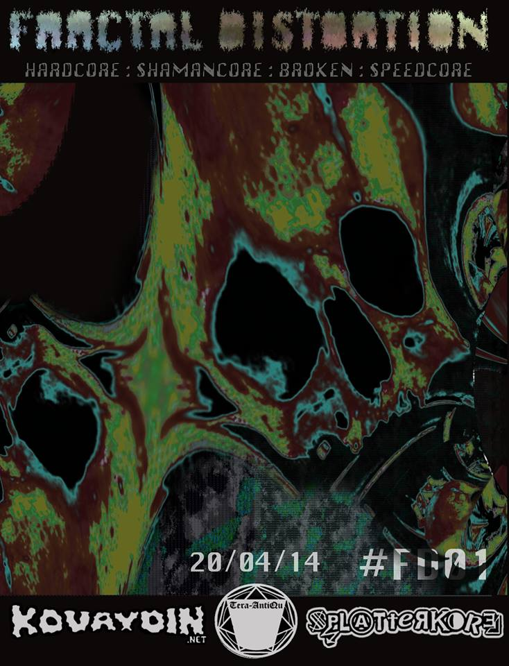20.04.2014 Fractal Distortion - #FD01 @ The Head of Steam, Newcastle (UK)