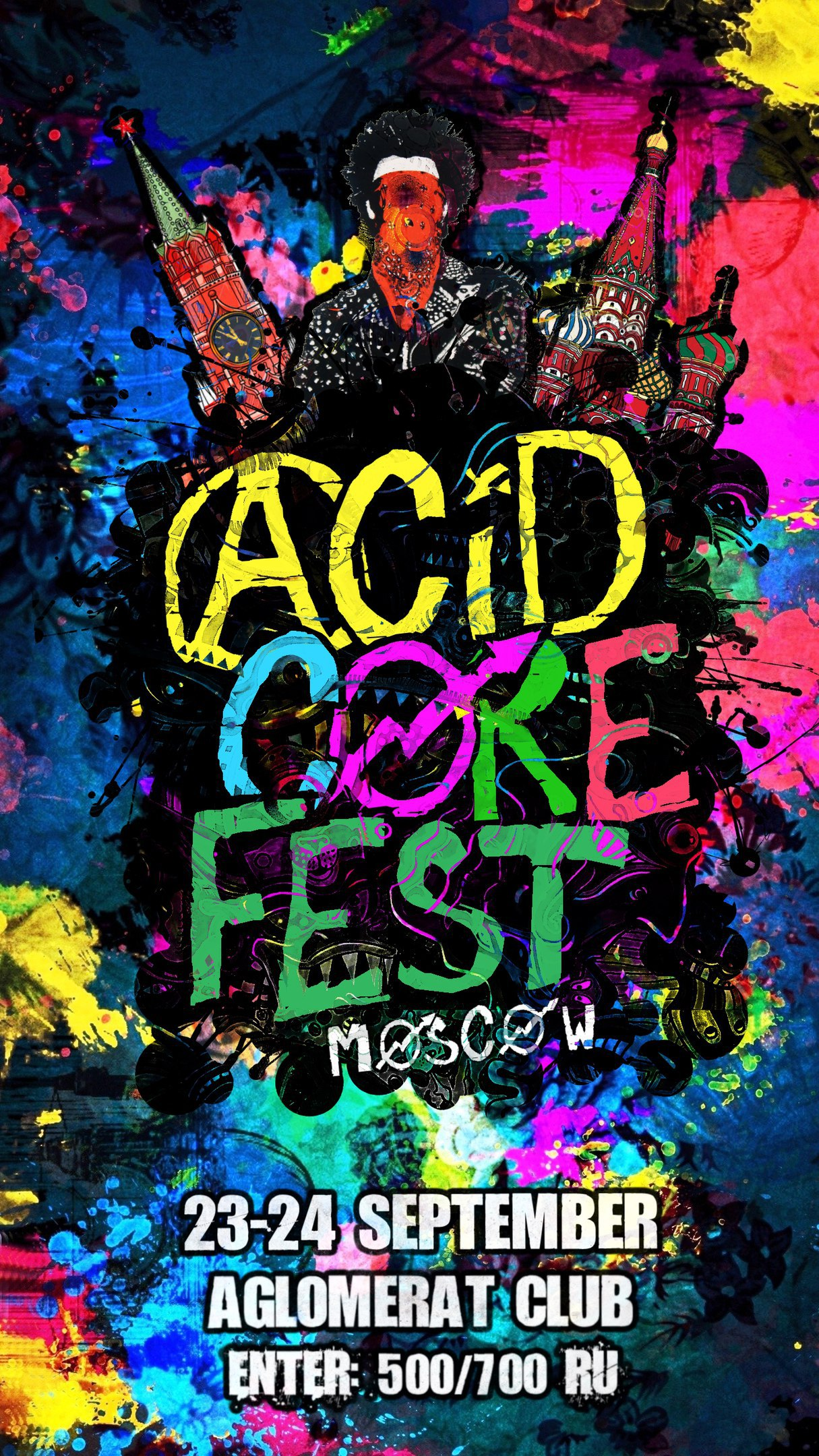 24.09.2016 Acidcorefest.moscowedition @ Anglomerat Club, Moscow (RU)